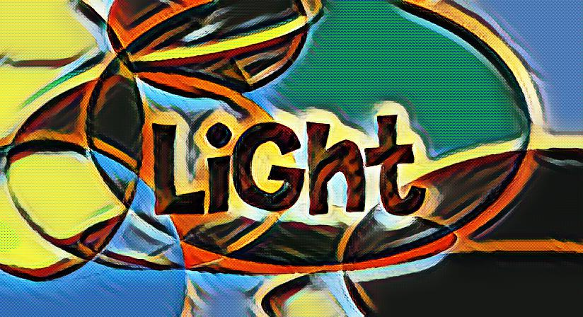 What is light and how is it created?