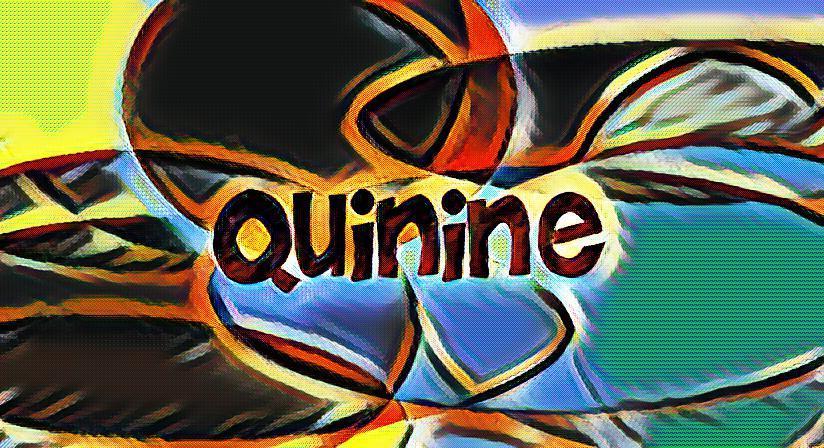 What is quinine?